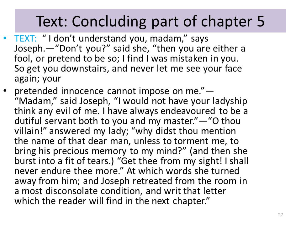 Text: Concluding part of chapter 5