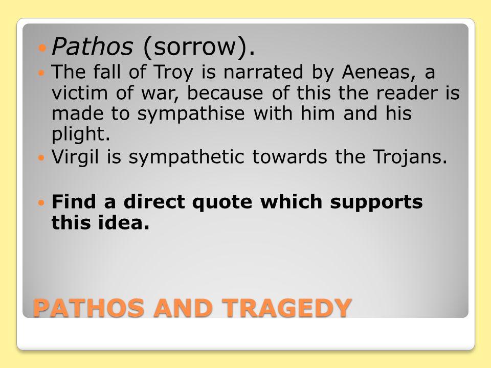Pathos (sorrow). PATHOS AND TRAGEDY