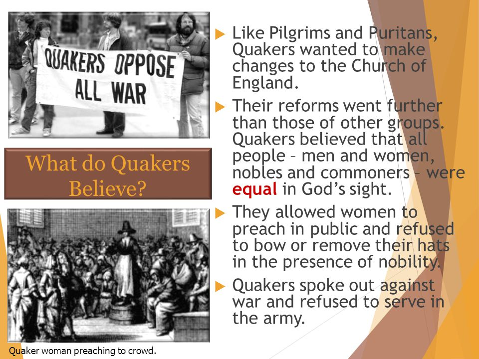 What do Quakers Believe