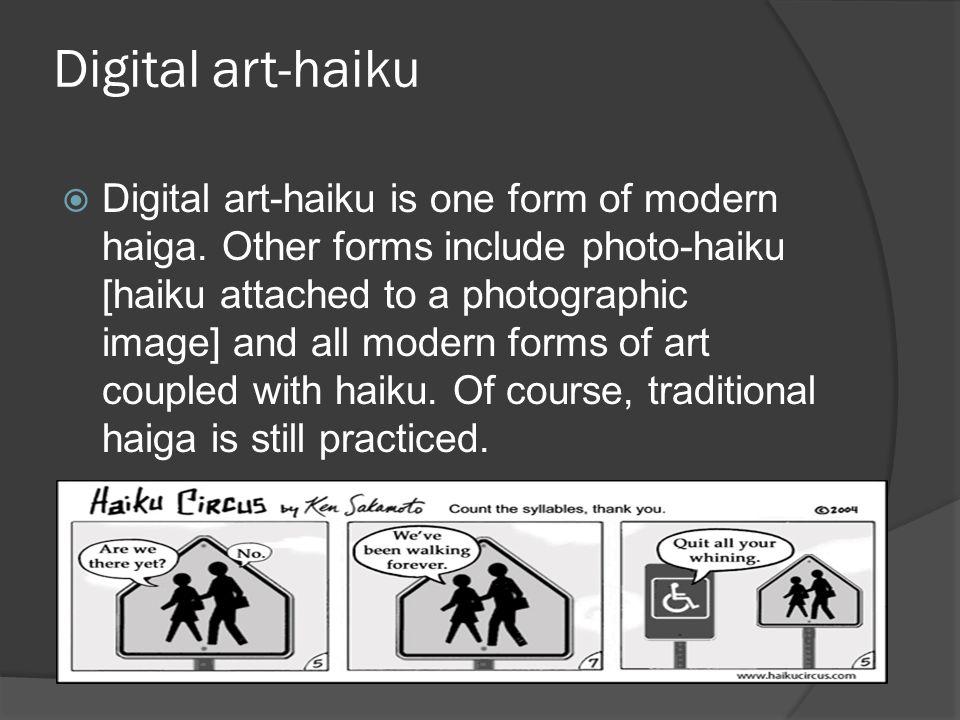 Digital art-haiku