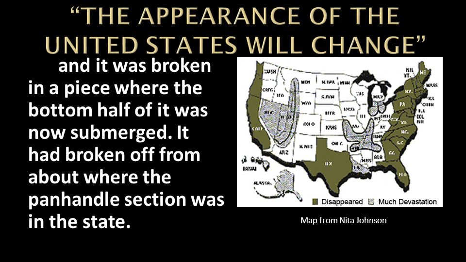THE APPEARANCE OF THE UNITED STATES WILL CHANGE