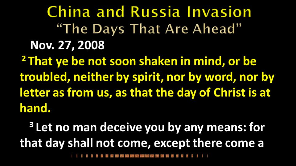 China and Russia Invasion The Days That Are Ahead