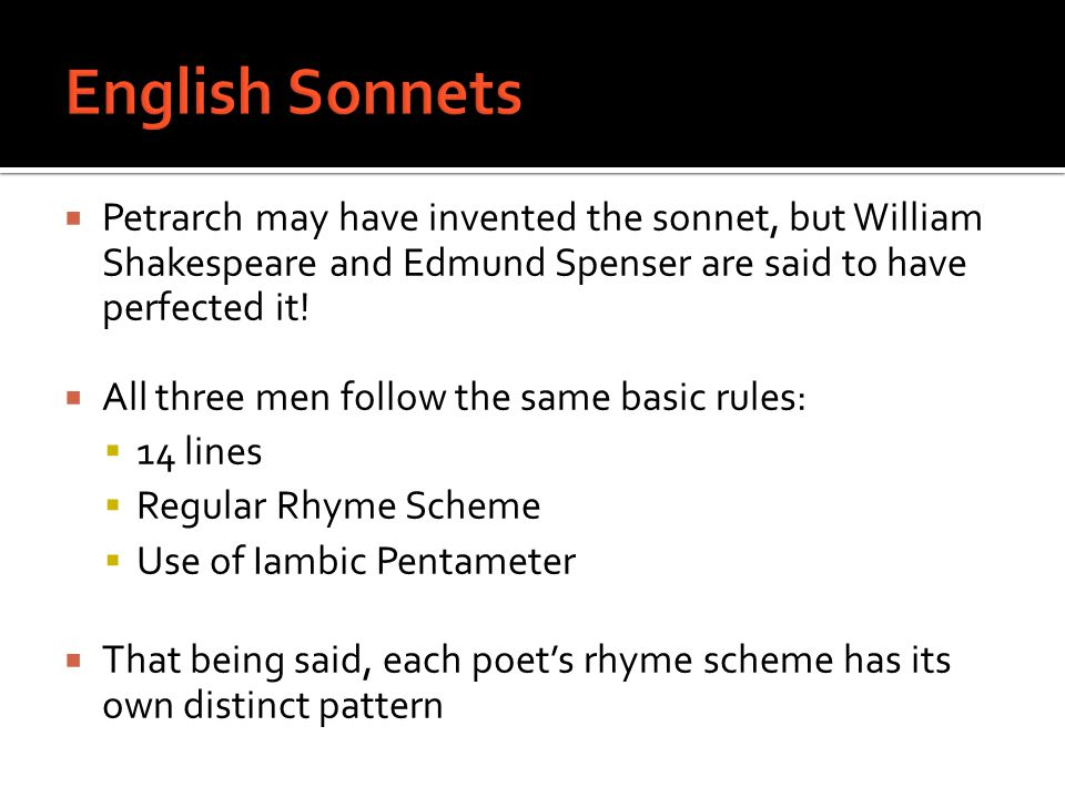 shakespearean and petrarchan sonnets essay A study on elizabethan love sonnets print reference this demonstrating a strict adherence to the petrarchan sonnet the shakespearean sonnet.