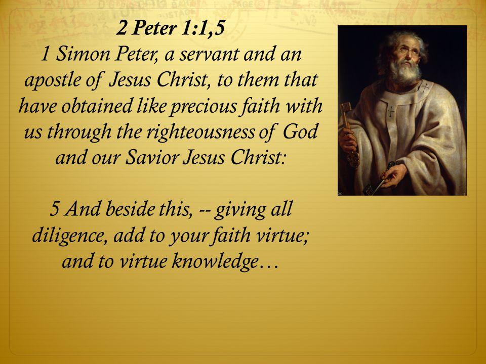 2 Peter 1:1,5