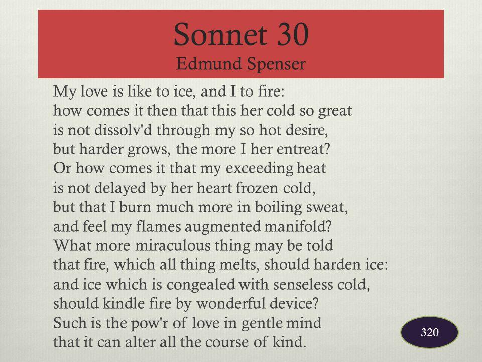 Sonnet 30 Edmund Spenser