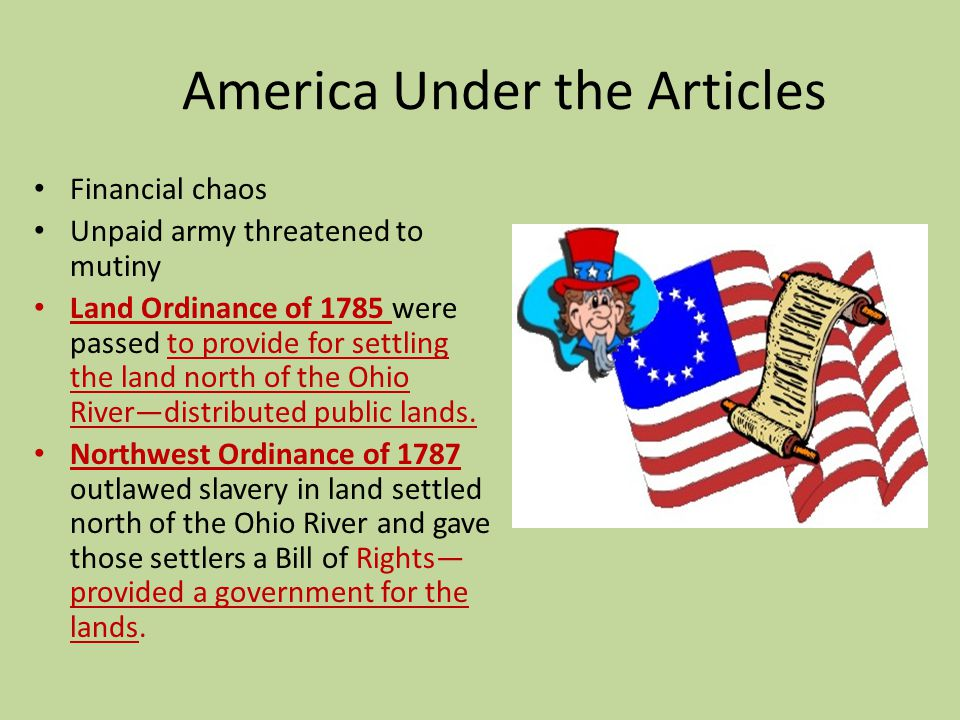 America Under the Articles