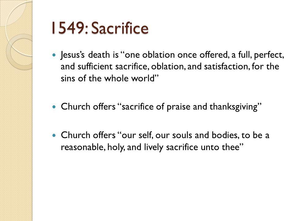 1549: Sacrifice
