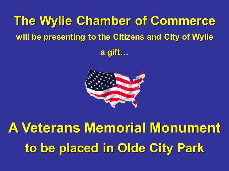 A Veterans Memorial Monument