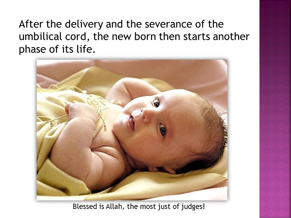 Blessed is Allah, the most just of judges!