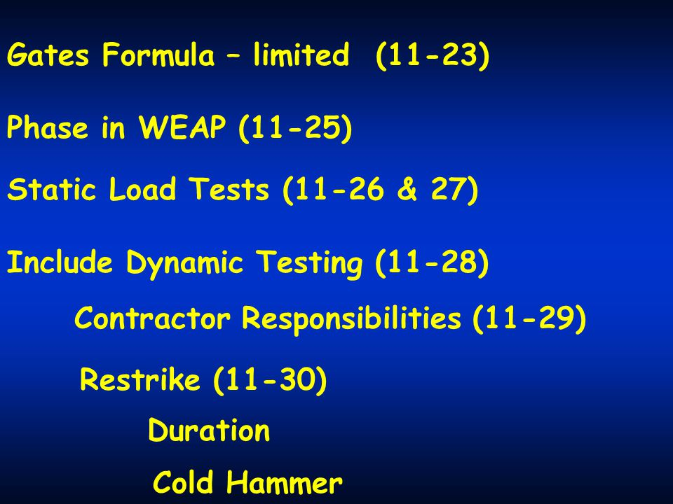 Gates Formula – limited (11-23)