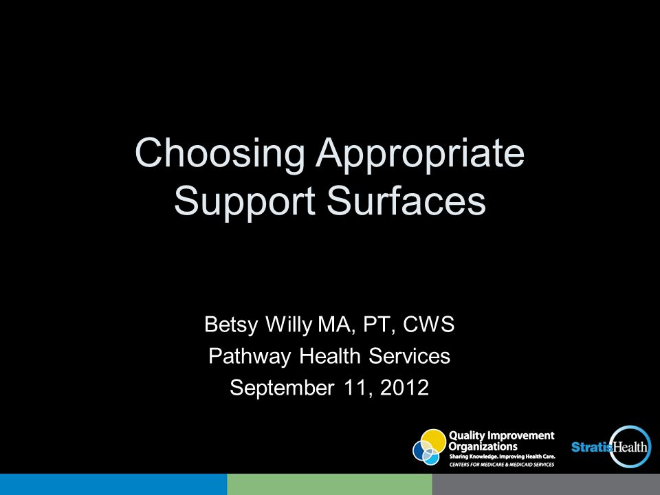 Choosing Appropriate Support Surfaces