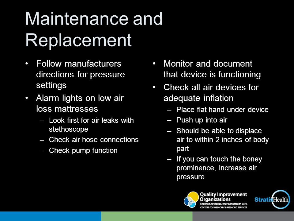 Maintenance and Replacement