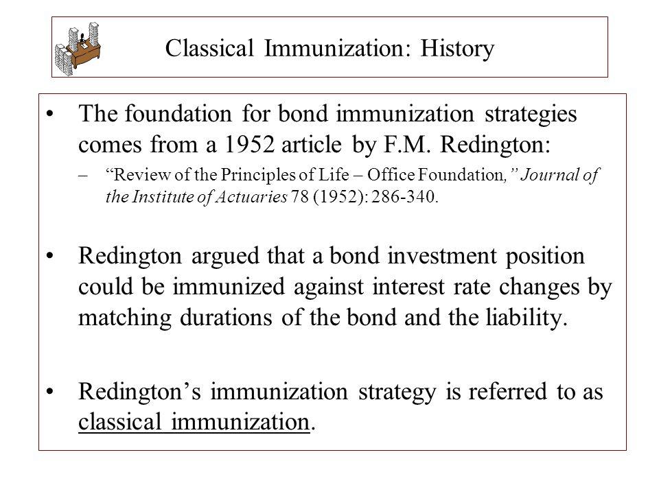 Classical Immunization: History