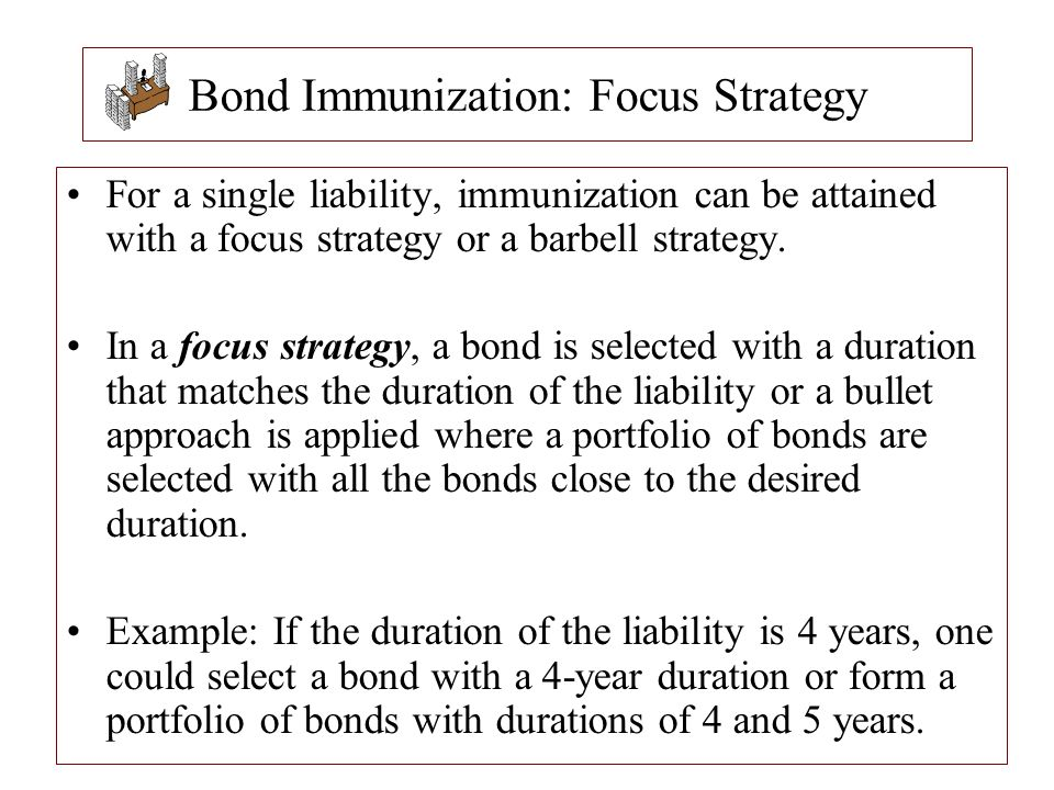 Bond Immunization: Focus Strategy