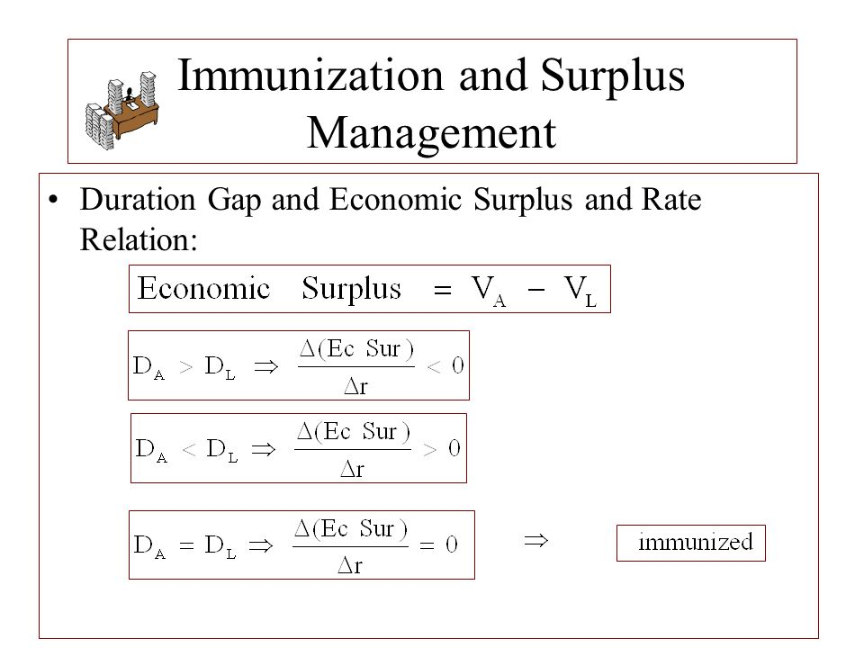 Immunization and Surplus Management