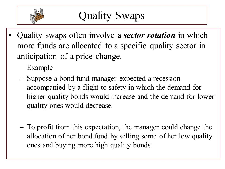 Quality Swaps