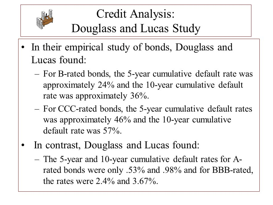 Credit Analysis: Douglass and Lucas Study