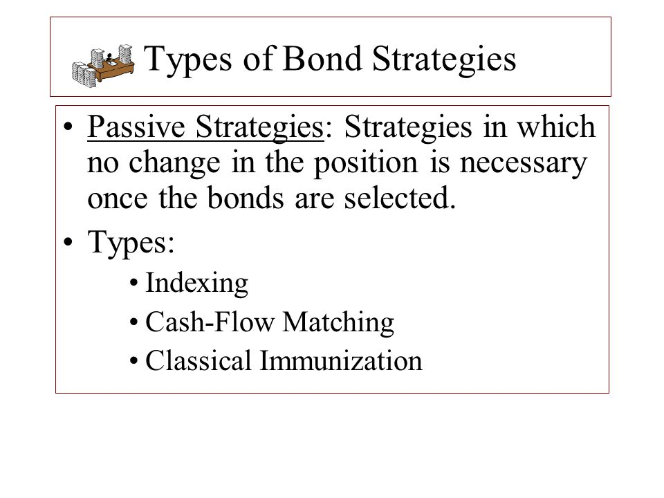 Types of Bond Strategies