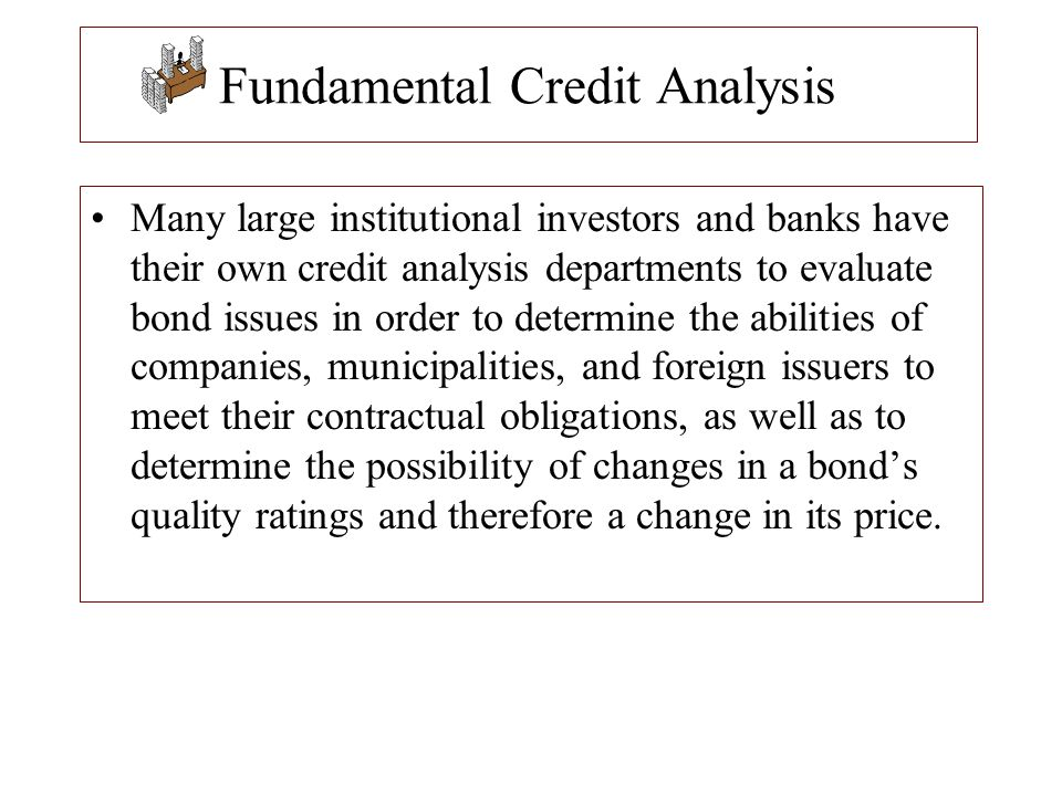 Fundamental Credit Analysis