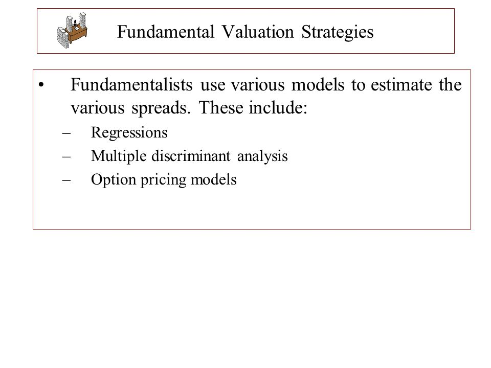 Fundamental Valuation Strategies