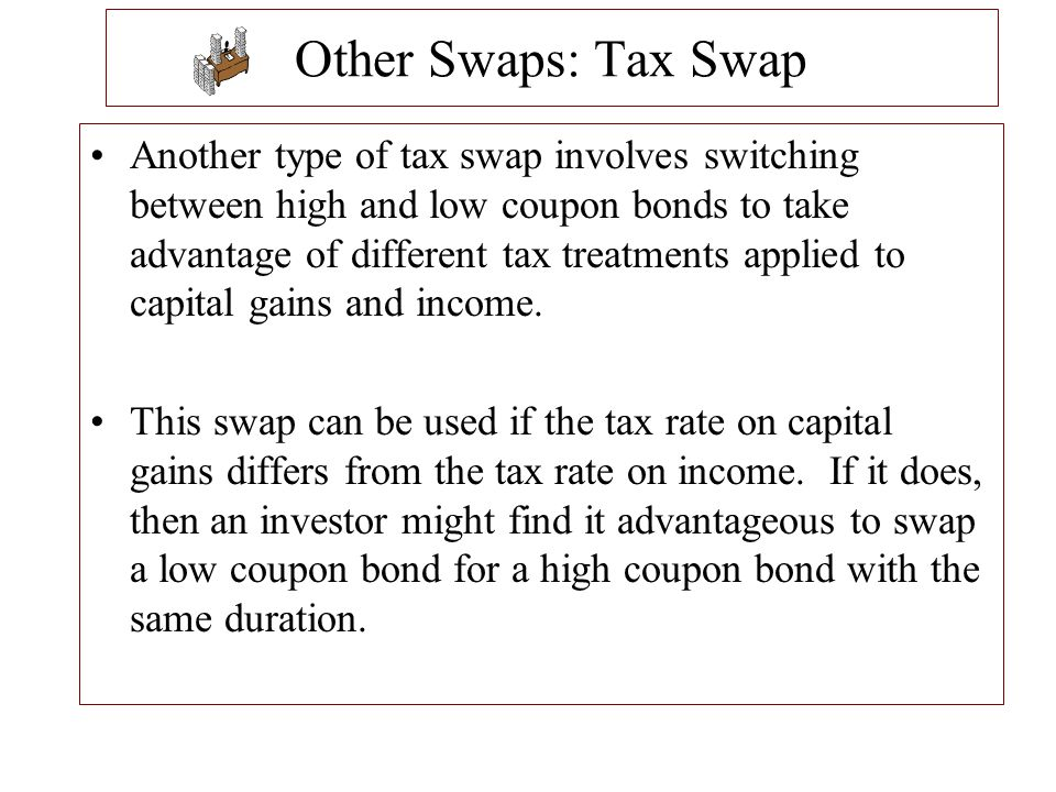 Other Swaps: Tax Swap