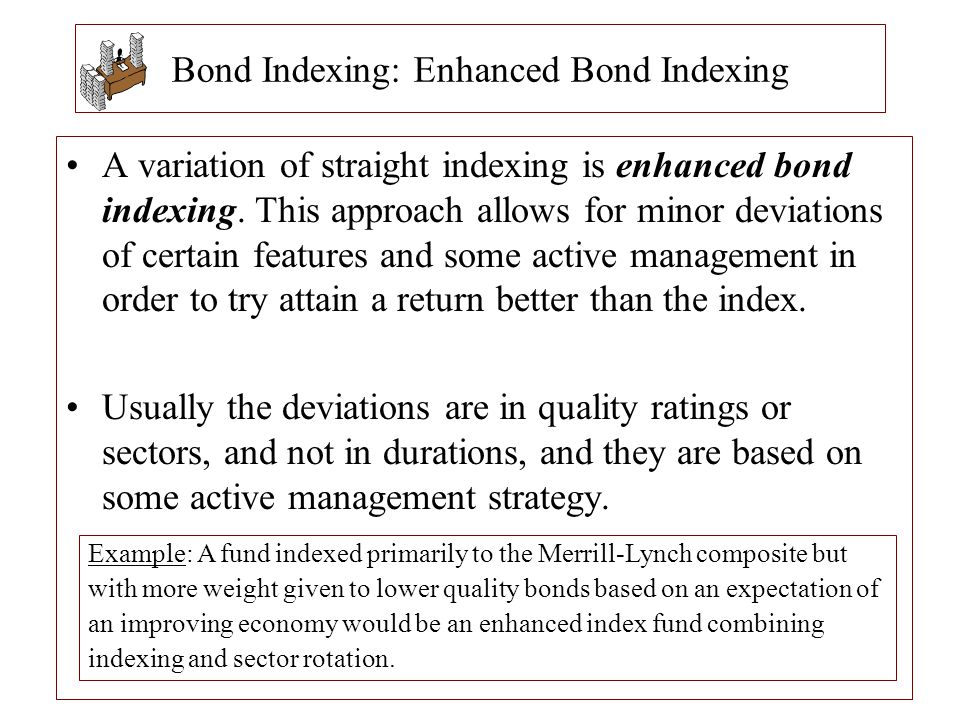 Bond Indexing: Enhanced Bond Indexing