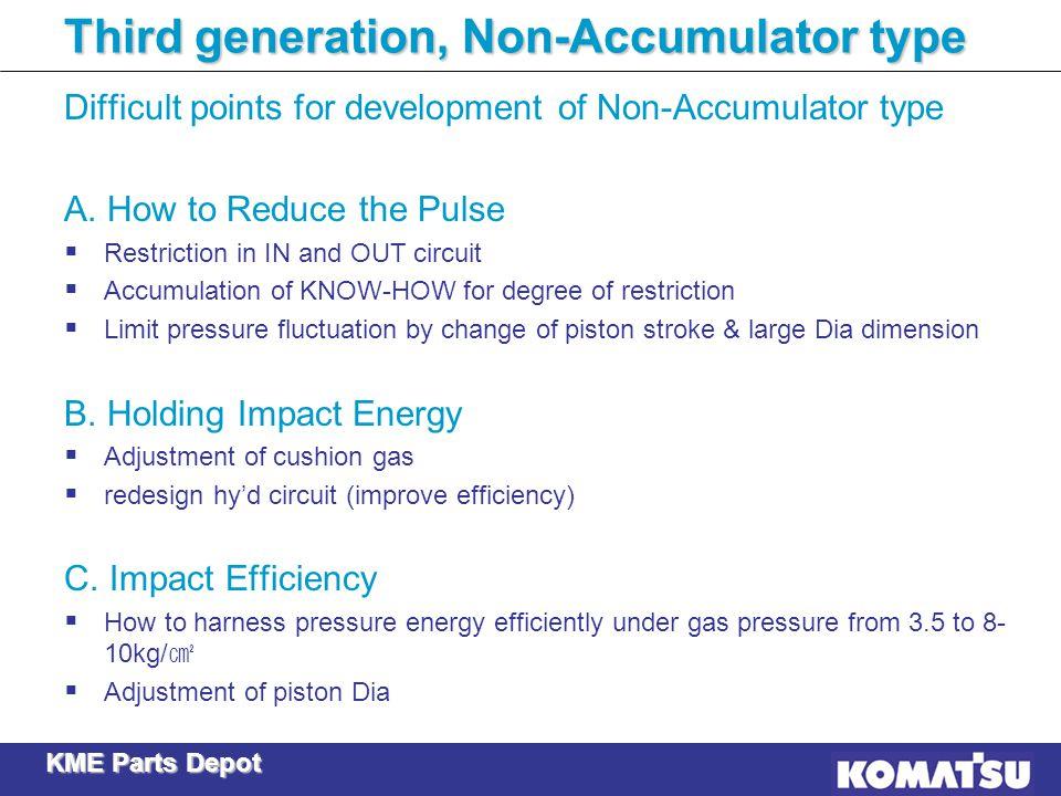 Third generation, Non-Accumulator type