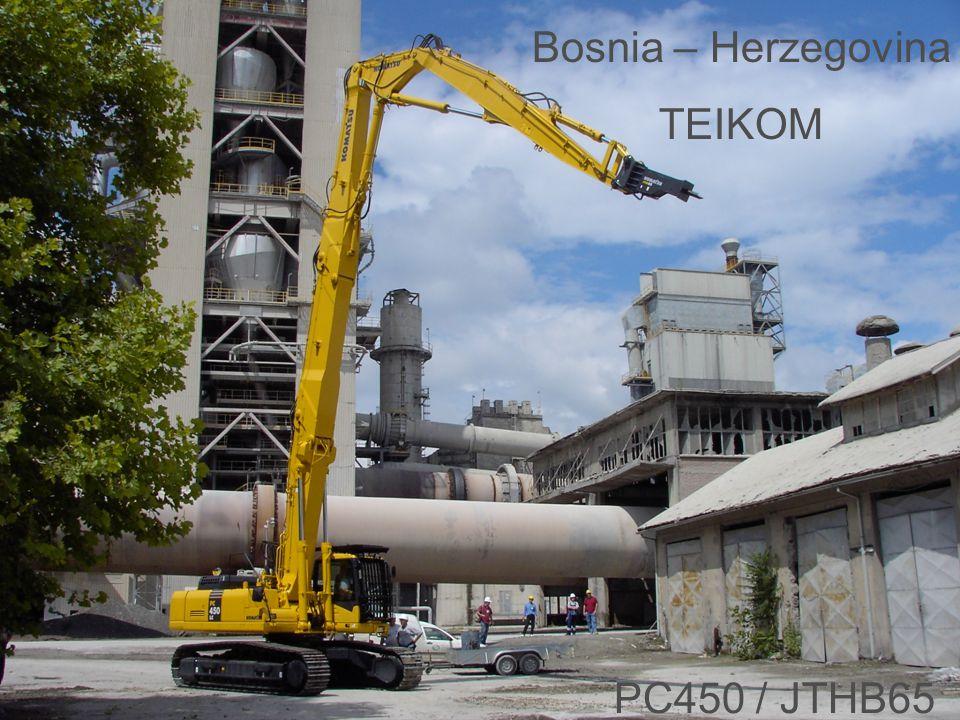 Bosnia – Herzegovina TEIKOM PC450 / JTHB65