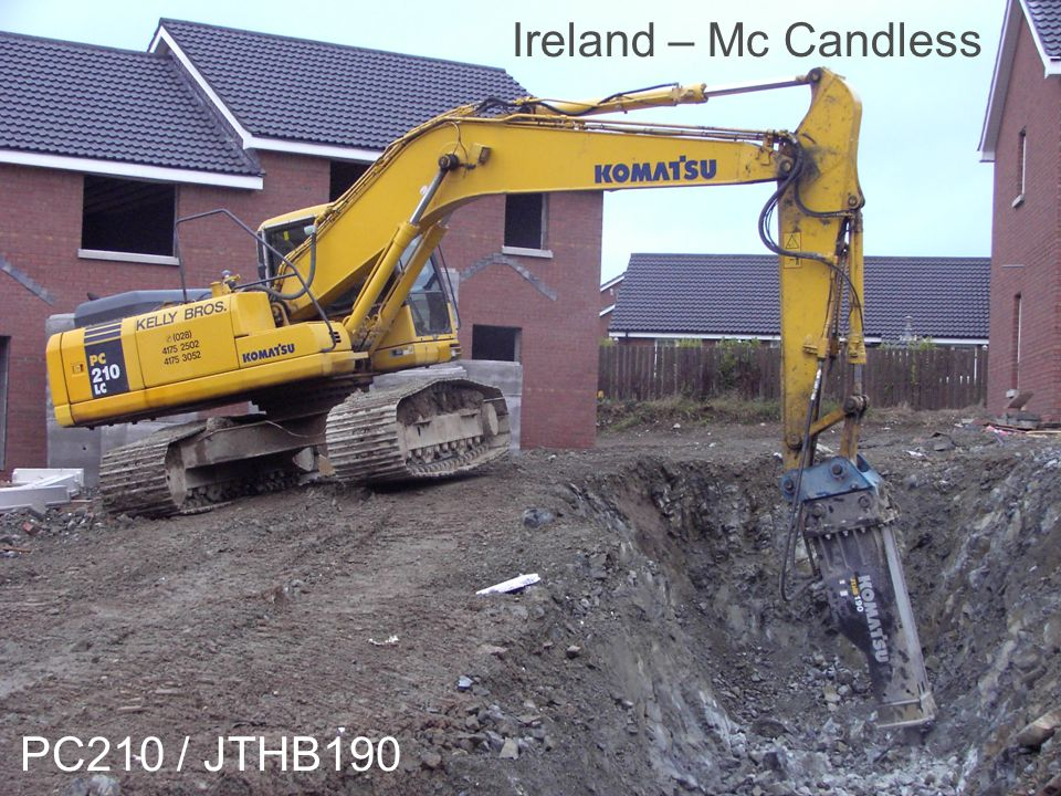 Ireland – Mc Candless PC210 / JTHB190