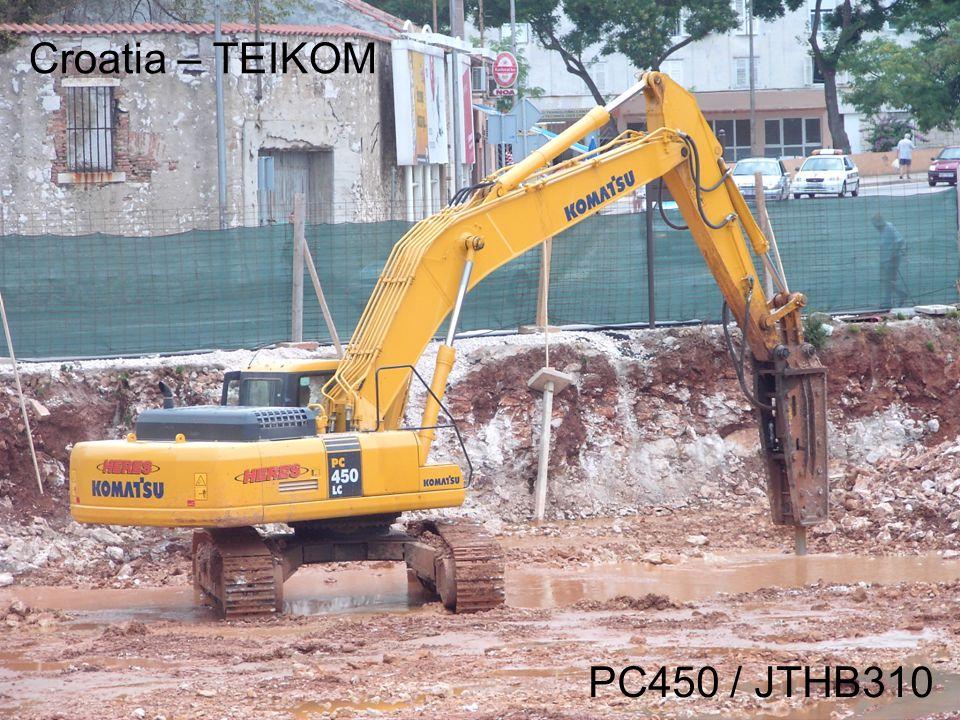 Croatia – TEIKOM PC450 / JTHB310