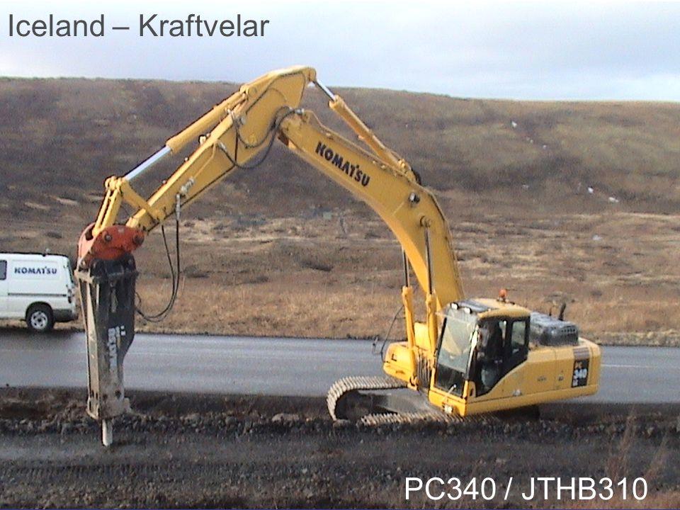 Iceland – Kraftvelar PC340 / JTHB310