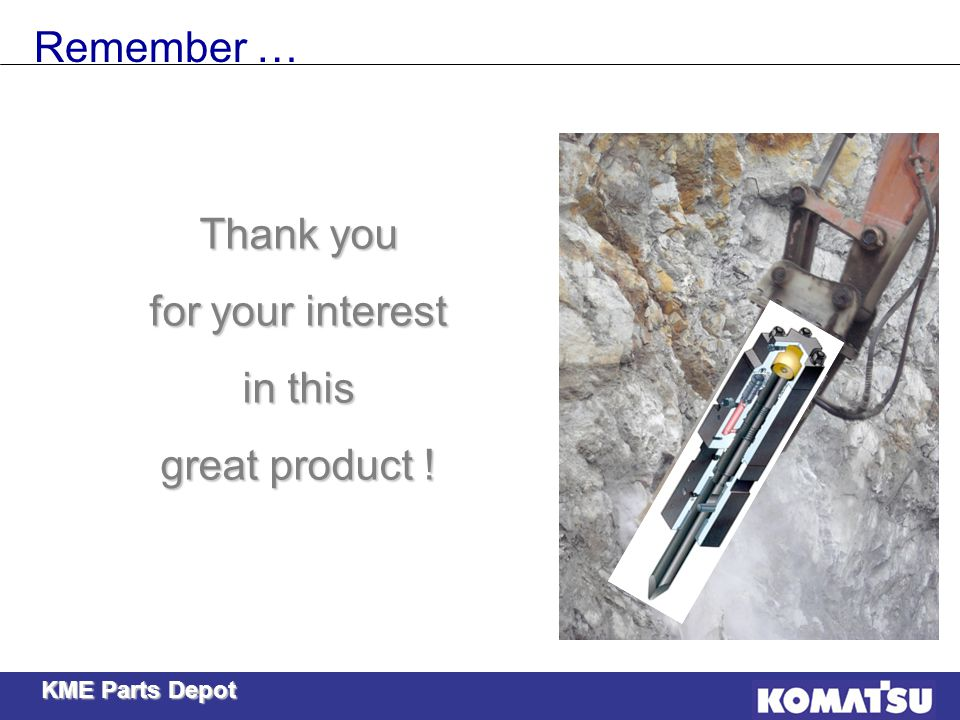Remember … Thank you for your interest in this great product !