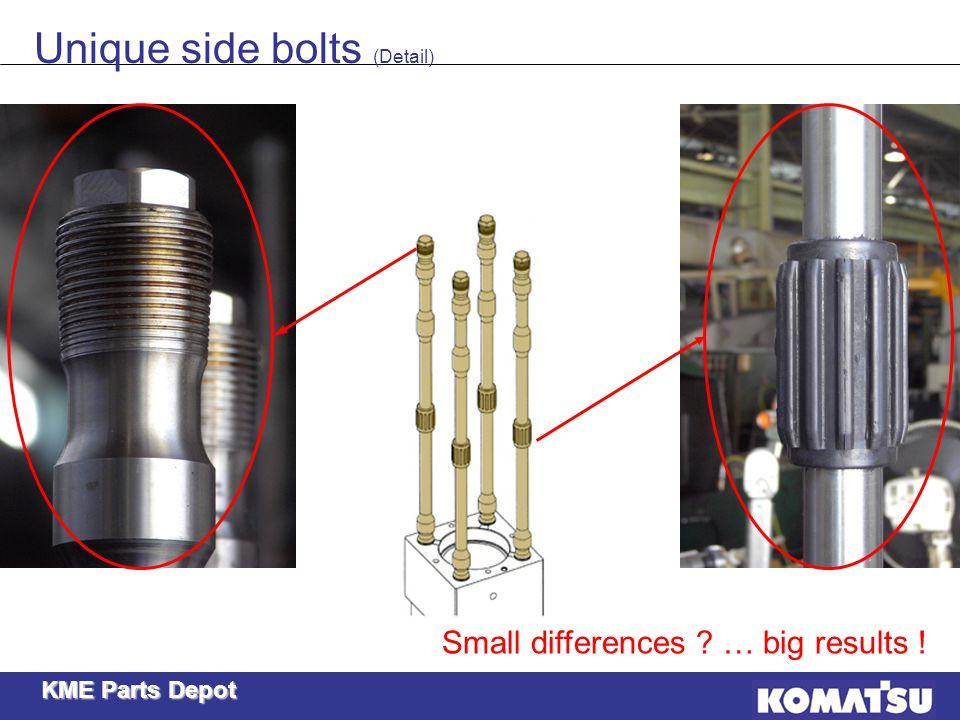 Unique side bolts (Detail)