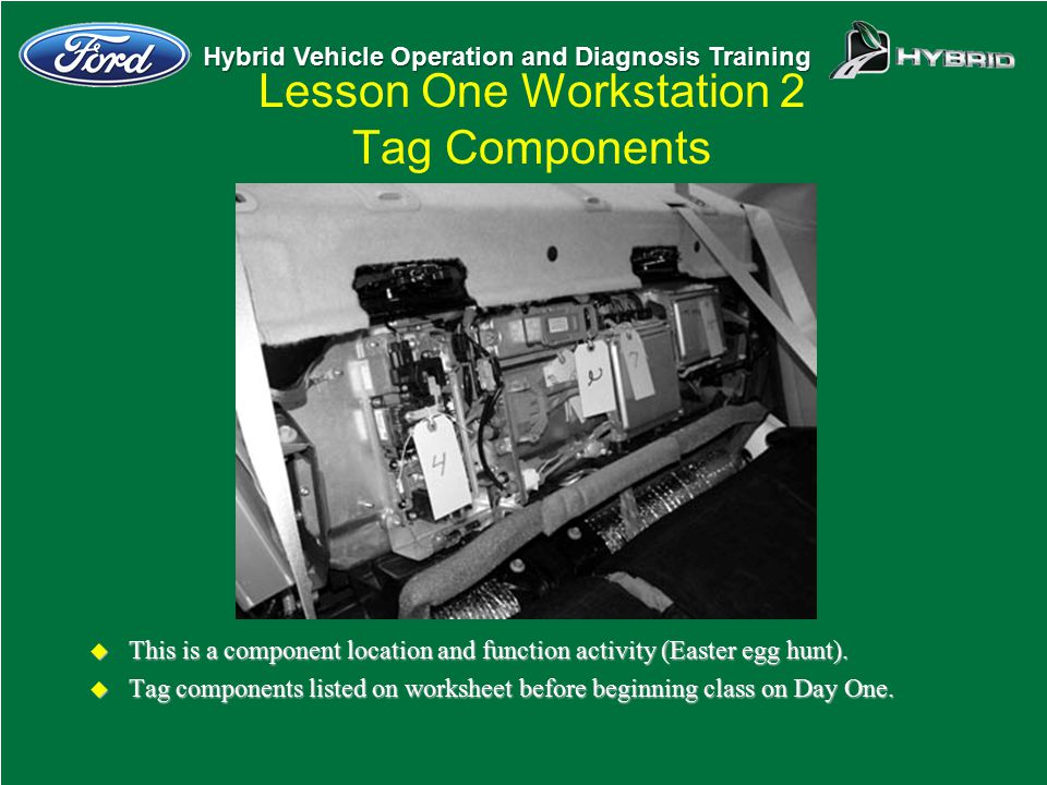 Lesson One Workstation 2 Tag Components