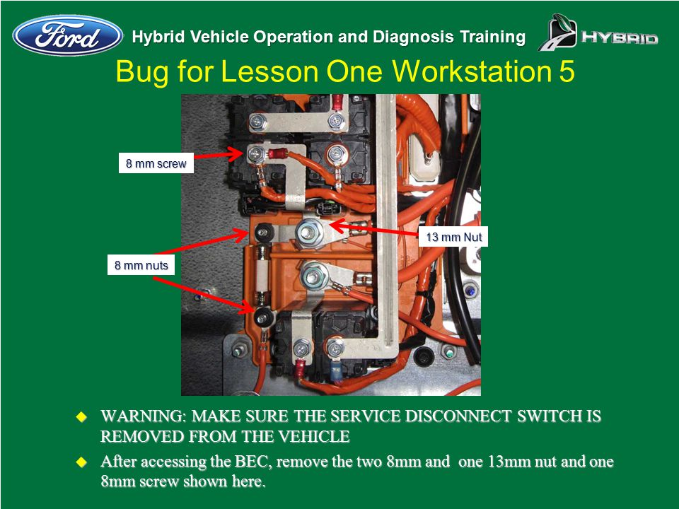 Bug for Lesson One Workstation 5