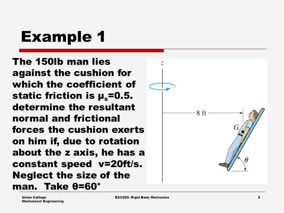 ESC020: Rigid Body Mechanics