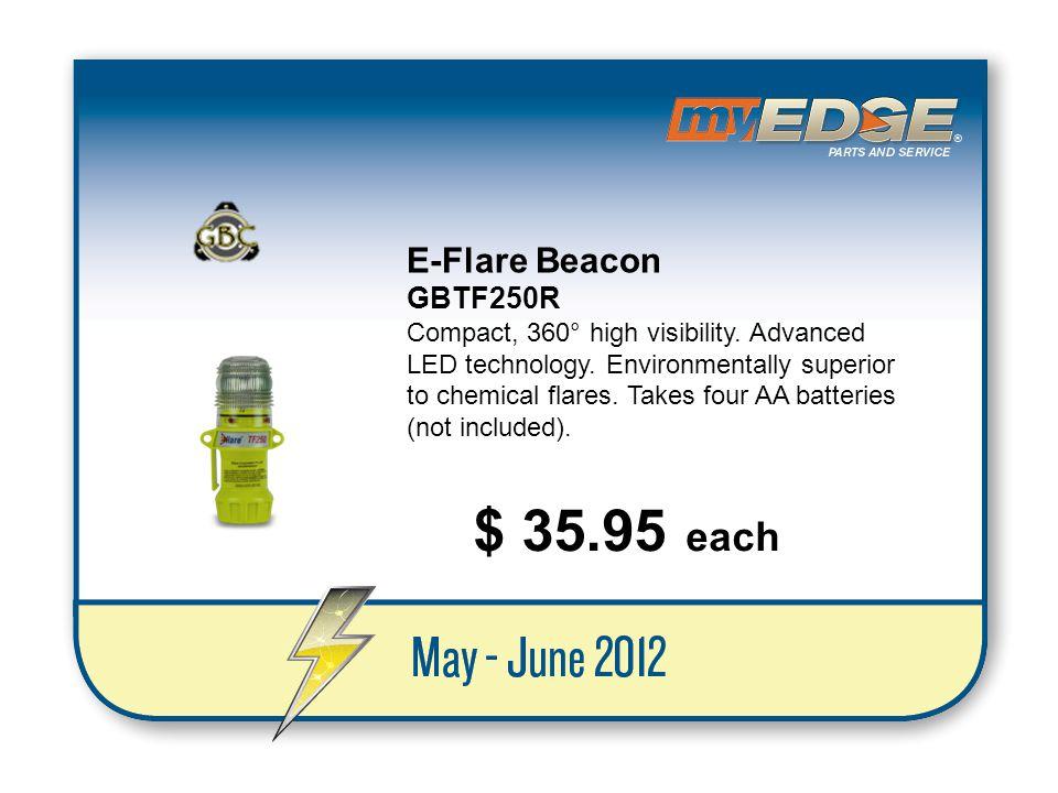 $ 35.95 each E-Flare Beacon GBTF250R