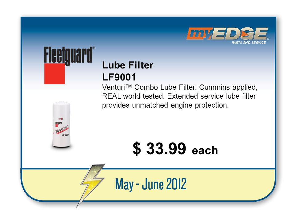 Lube Filter LF9001.