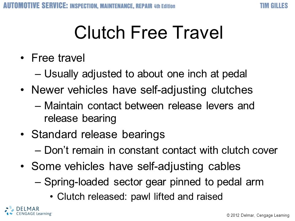 Clutch Free Travel Free travel