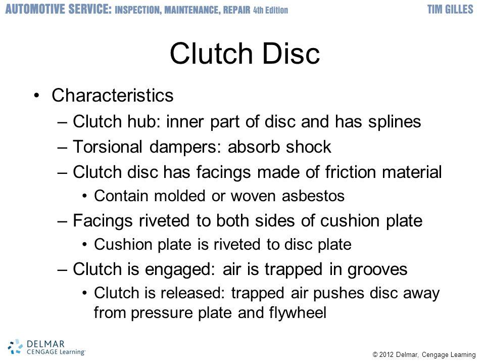 Clutch Disc Characteristics