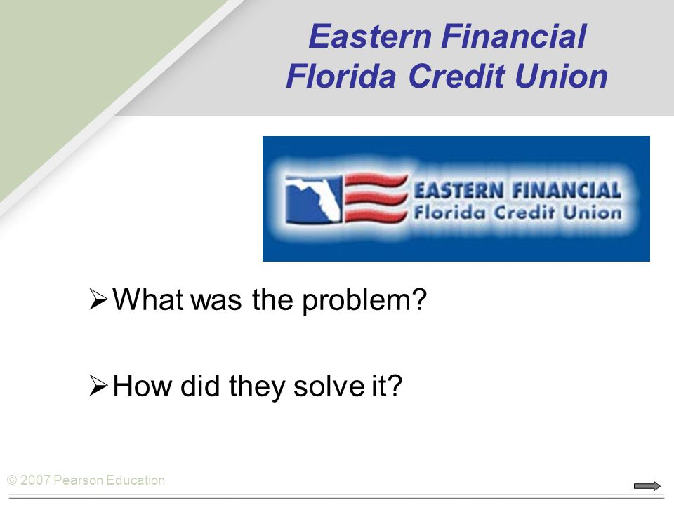 Eastern Financial Florida Credit Union