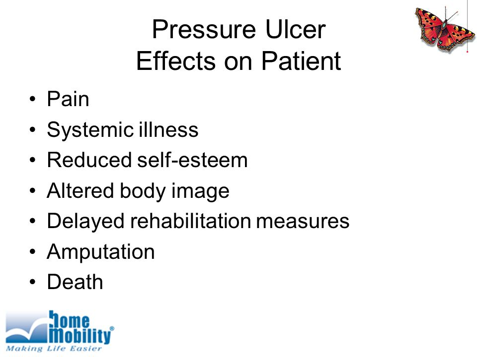 Pressure Ulcer Effects on Patient