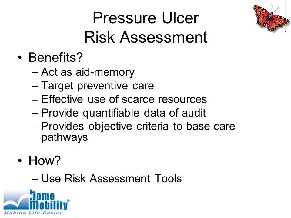Pressure Ulcer Risk Assessment