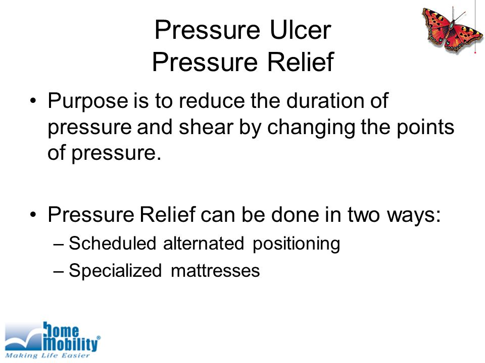 Pressure Ulcer Pressure Relief
