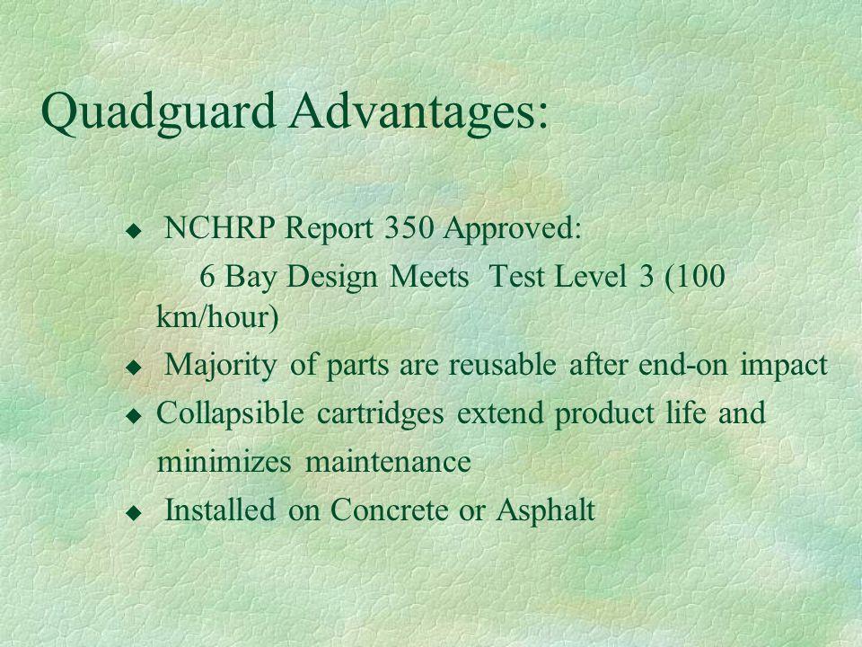 Quadguard Advantages: