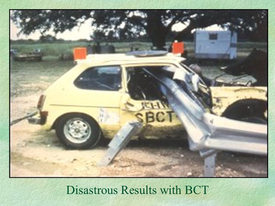 Disastrous Results with BCT