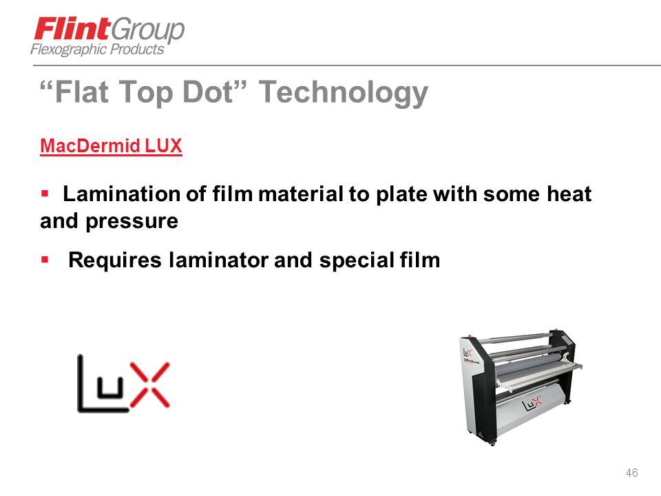 Flat Top Dot Technology
