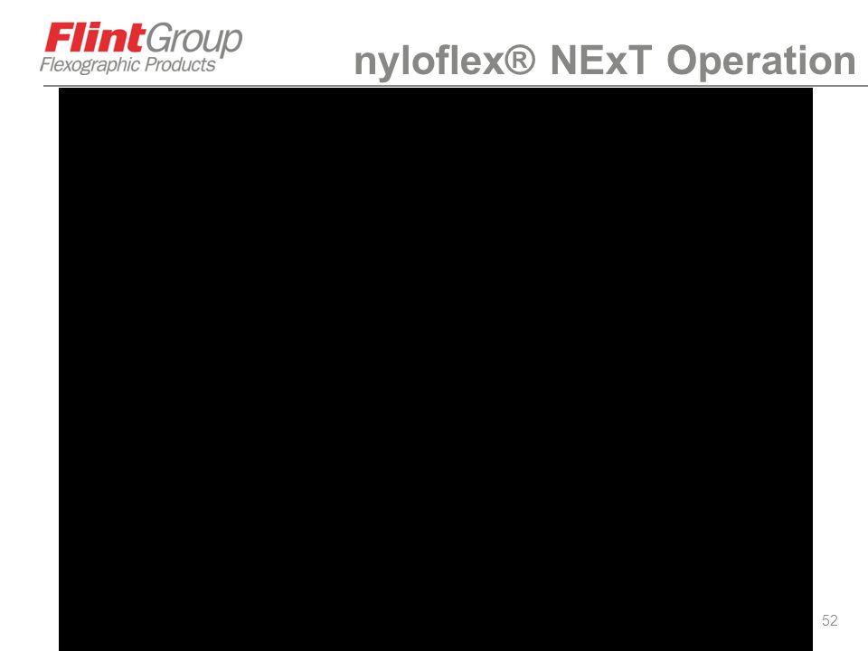 nyloflex® NExT Operation