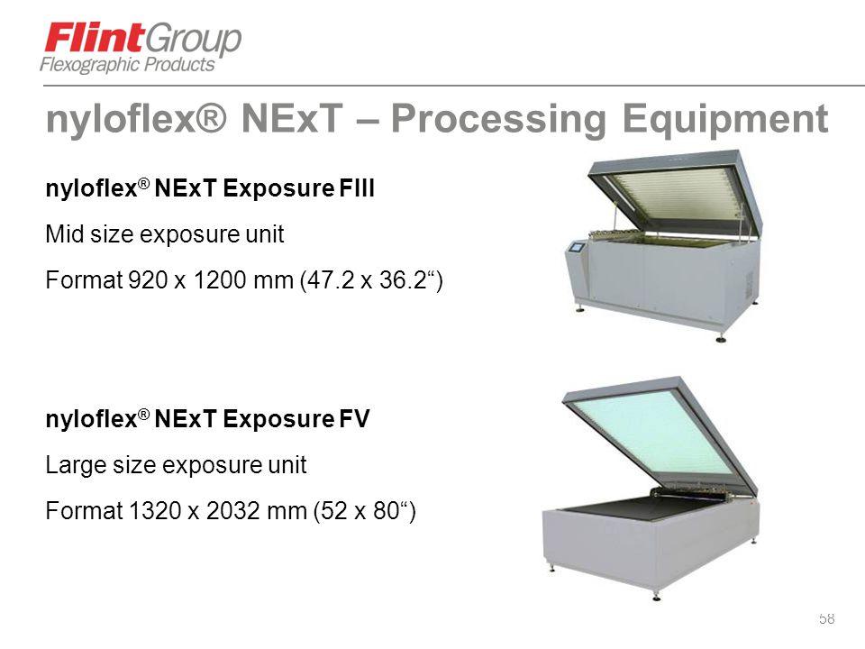 nyloflex® NExT – Processing Equipment
