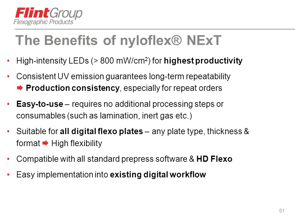 The Benefits of nyloflex® NExT
